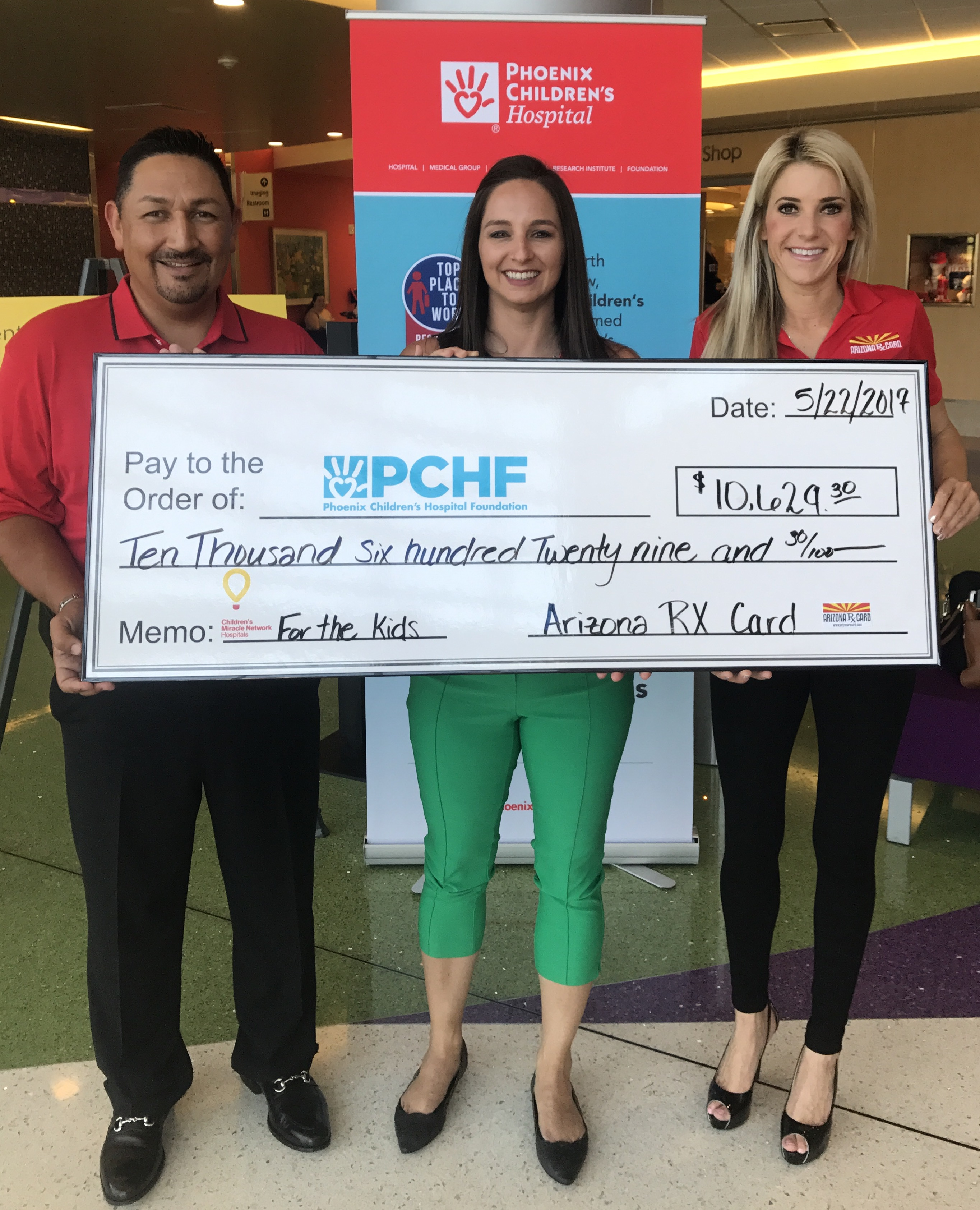 Arizona Rx Card visits The Phoenix Childrens Hospital