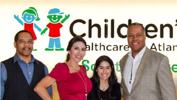 Georgia Drug Card Tours and Presents Donation to Children's Healthcare of Atlanta