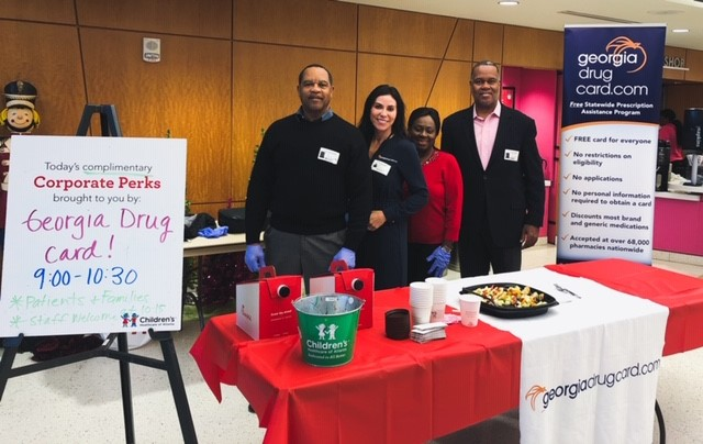 Georgia Drug Card Hosts Free Breakfast for Patients and Families at Children's Healthcare of Atlanta