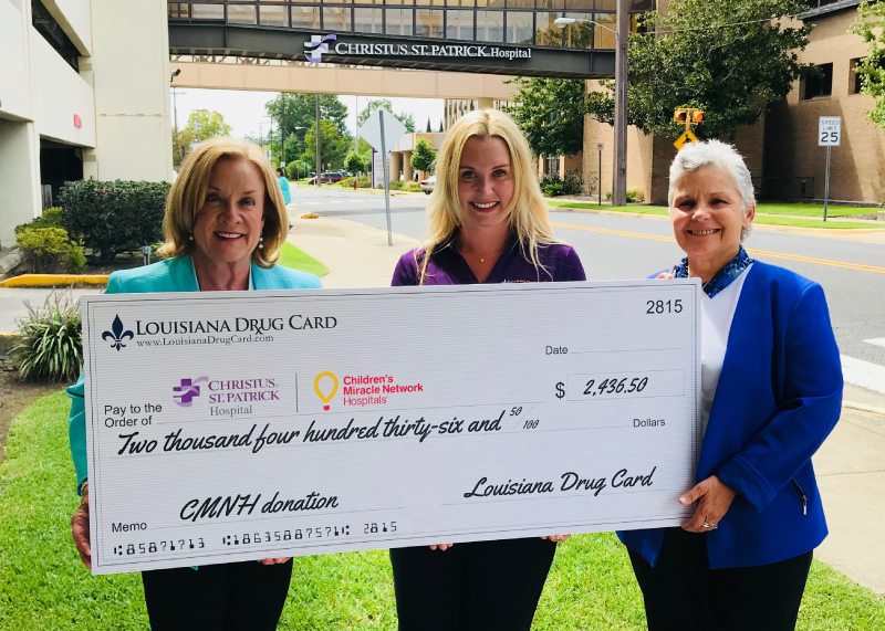 Louisiana Drug Card and United Networks of America Help Support Christus St. Patrick Hospital in Lake Charles, LA