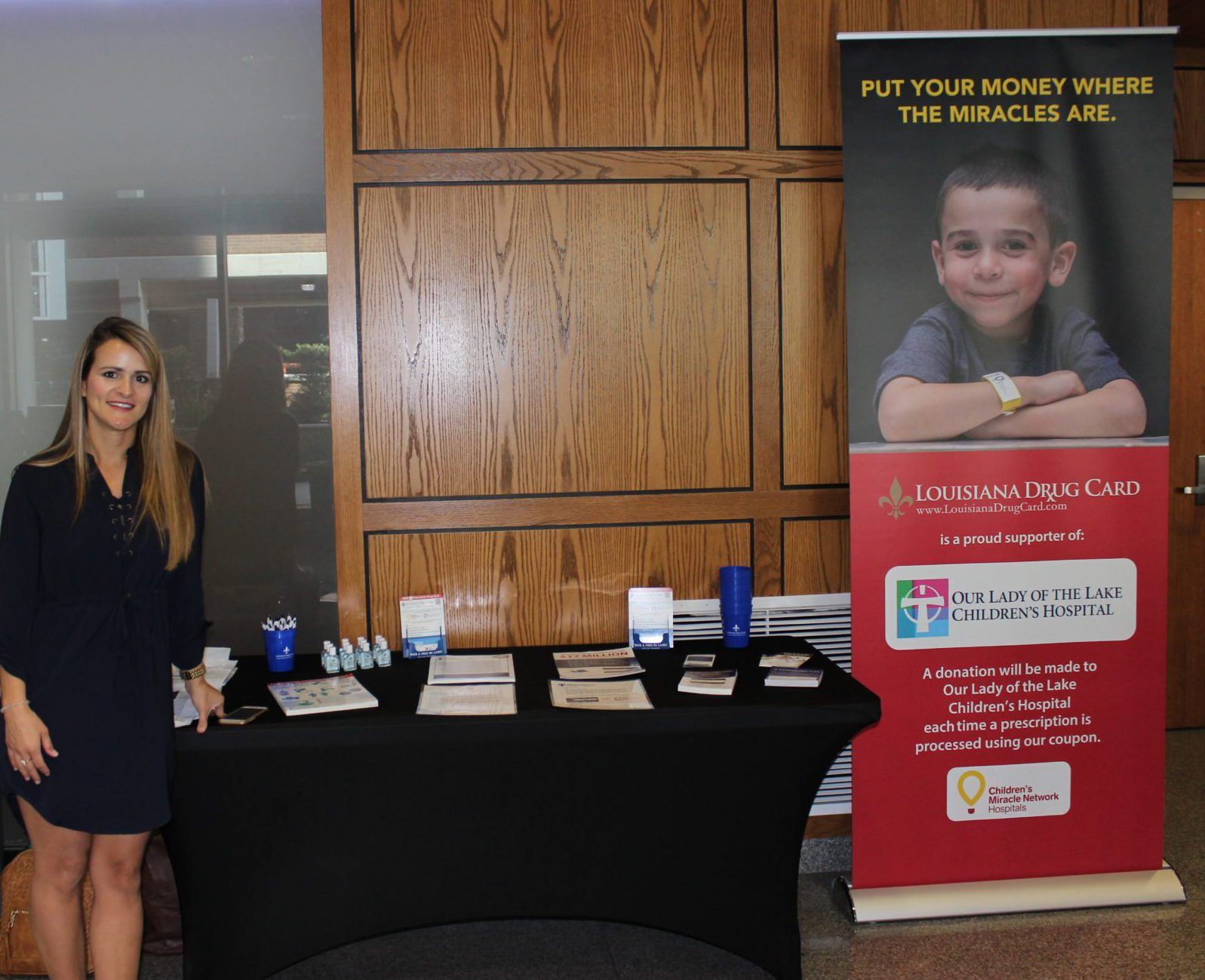 CMNH Walmart and Sam's Club Kick Off Campaign for OLOL