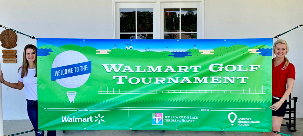 Louisiana Drug Card, powered by United Networks of America, Volunteers at Children's Miracle Network Hospitals Walmart Golf Tournament