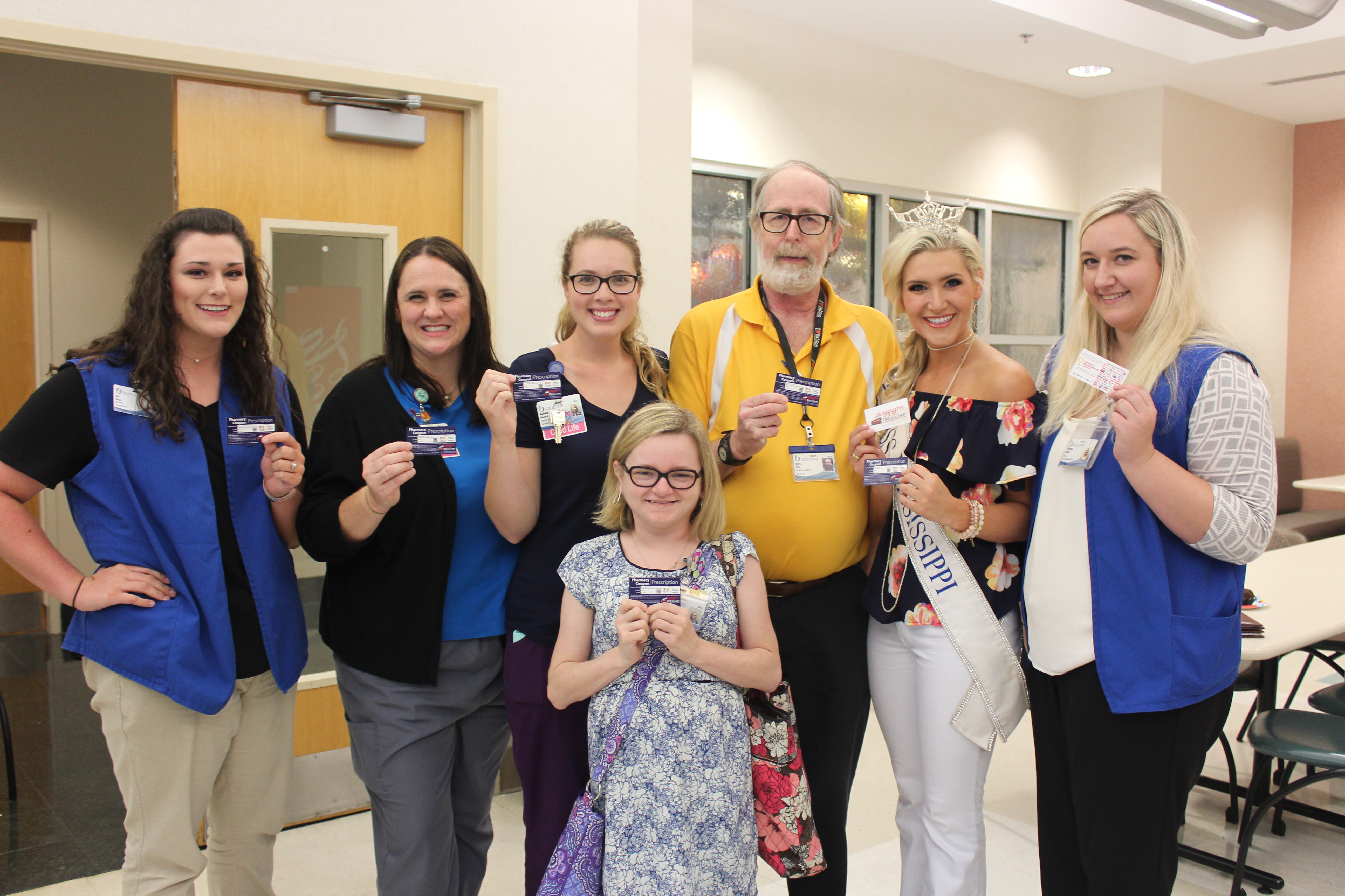 Miss Mississippi Laura Lee Lewis visits Batson Children's Hospital for June Birthday Party