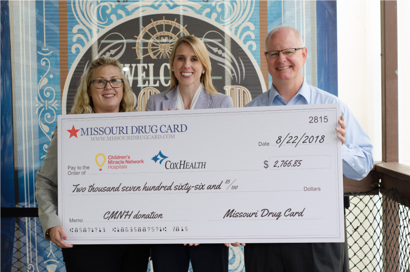 CoxHealth Receives Support from Missouri Drug Card and United Networks of America