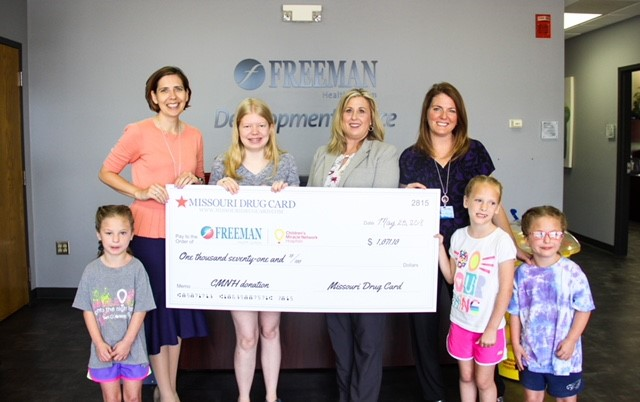 Missouri Drug Card Presents Donation to Freeman Health System