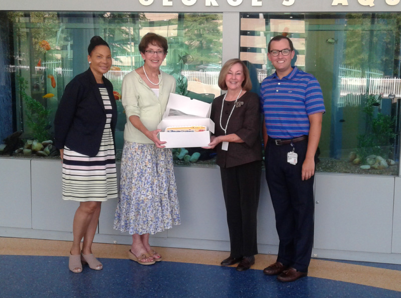 North Carolina Drug Card Presents Donation to Duke Children's Hospital