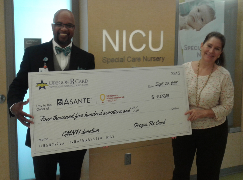Oregon Rx Card and United Networks of America Help Support Asante Ashland Community Hospital
