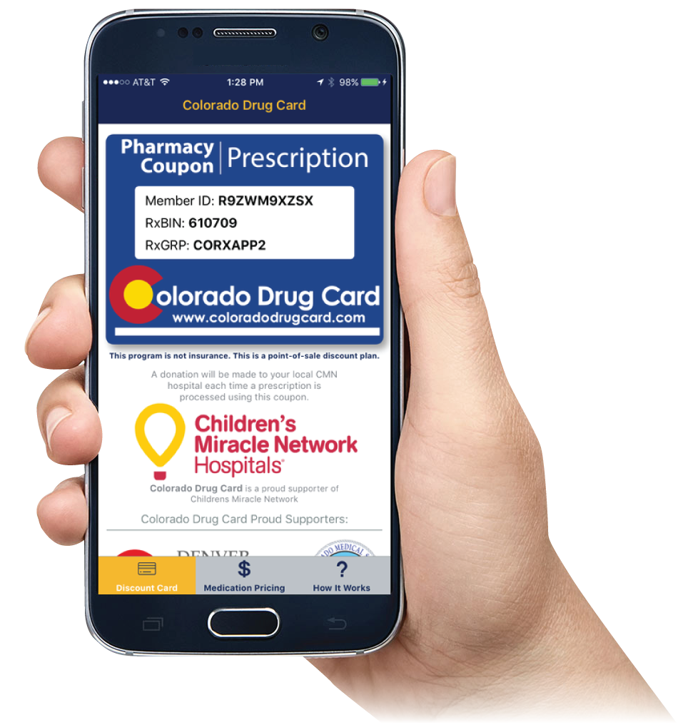 Colorado Drug Card Mobile App