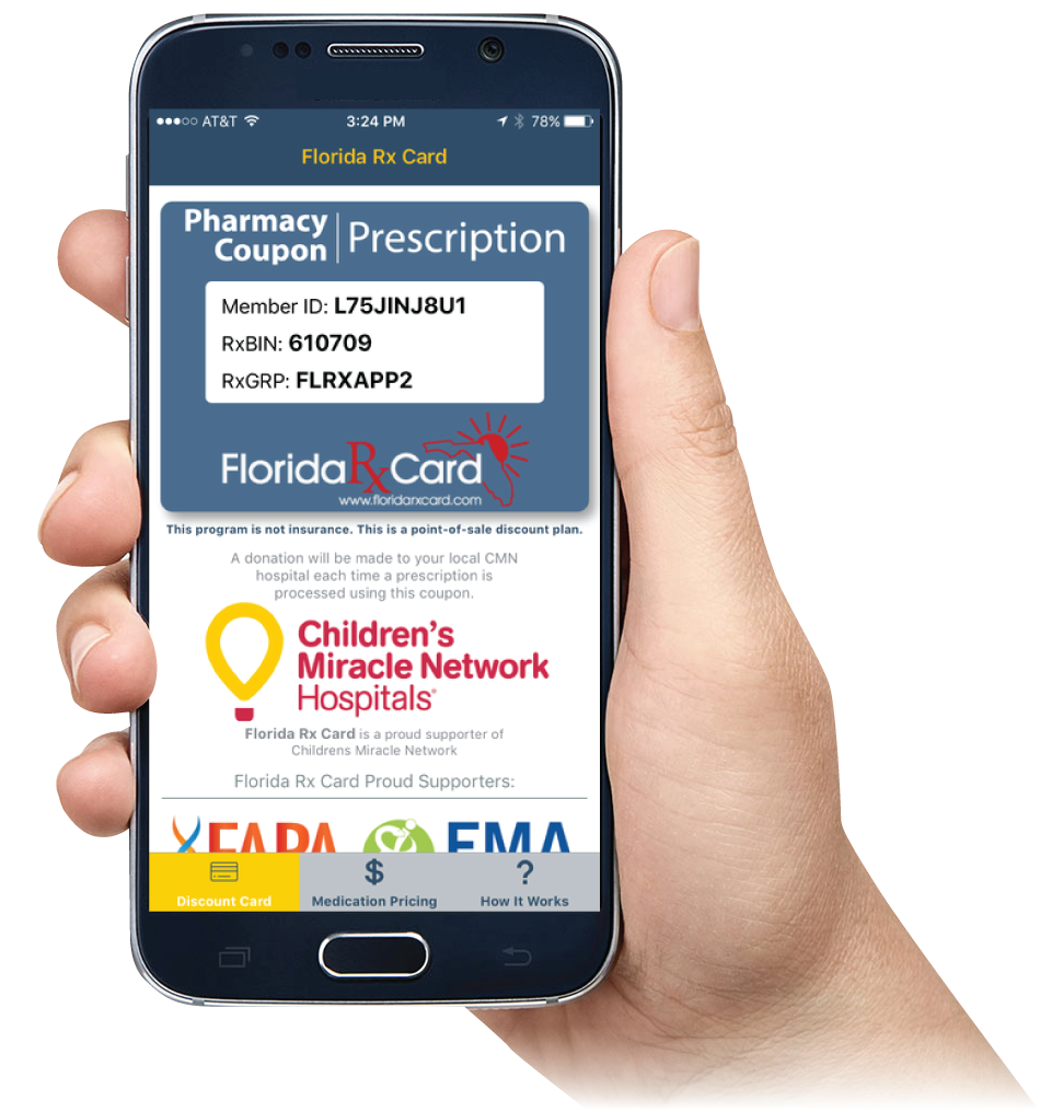 Florida Rx Card Mobile App