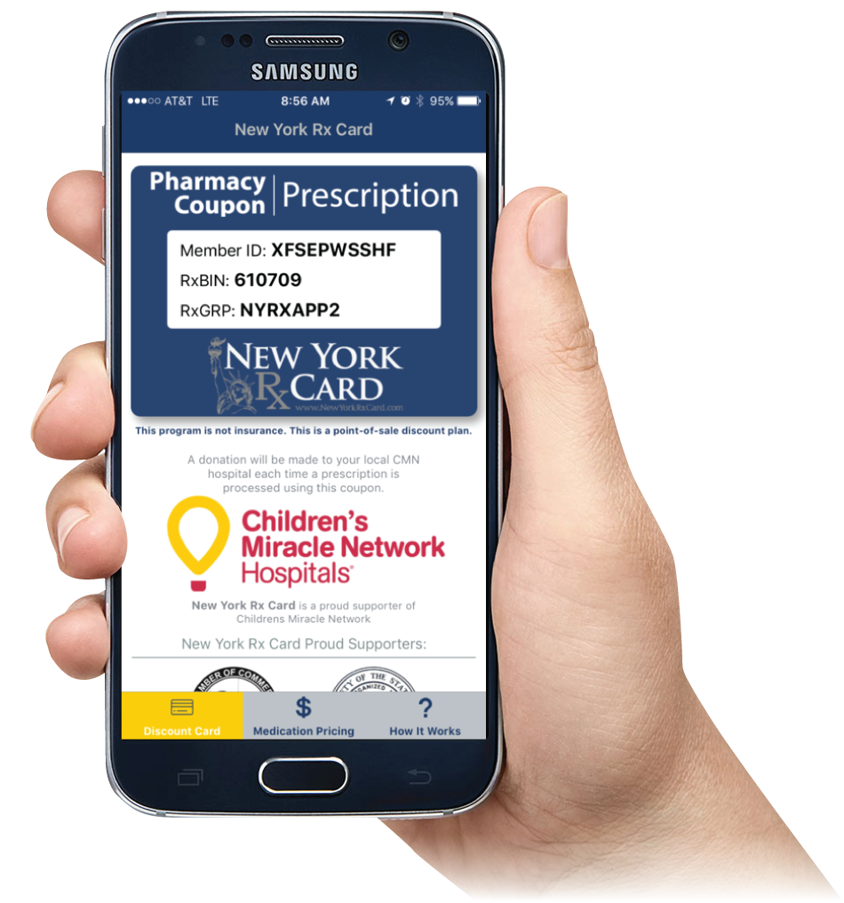 New York Rx Card Mobile App
