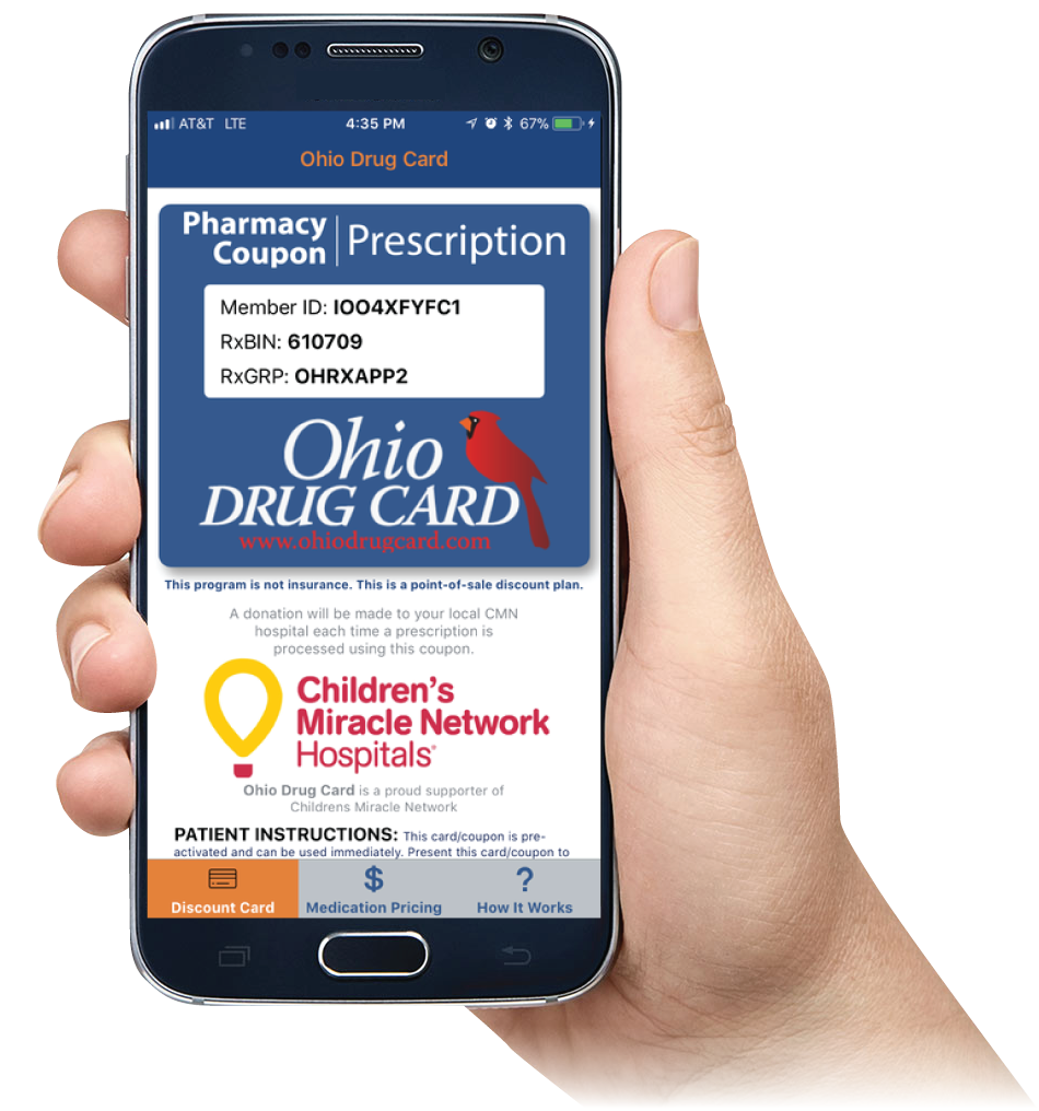 Ohio Drug Card Mobile App